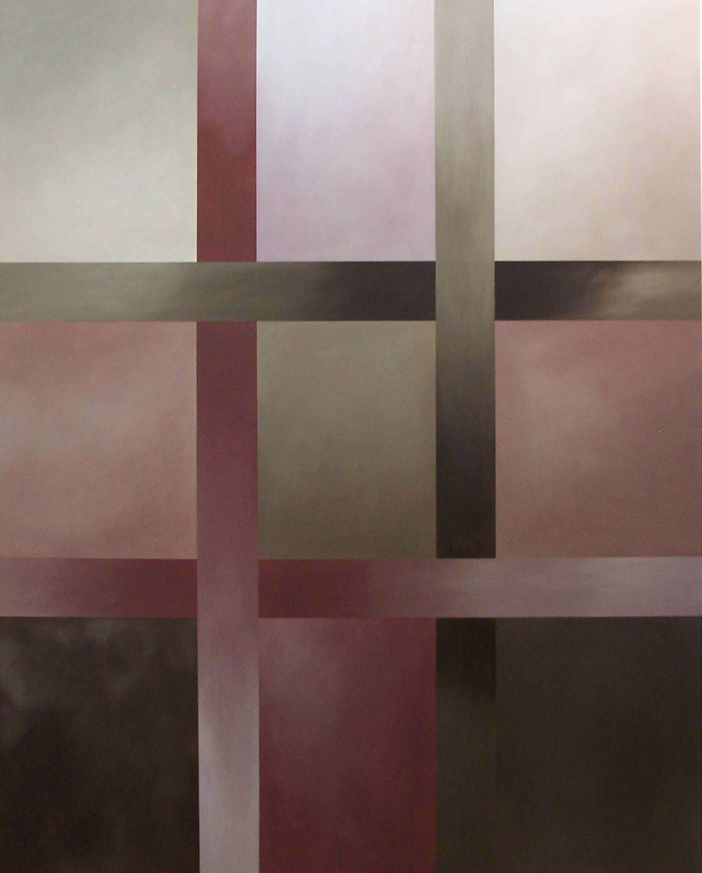 Grid 150x120cm Oil on Canvas 2006
