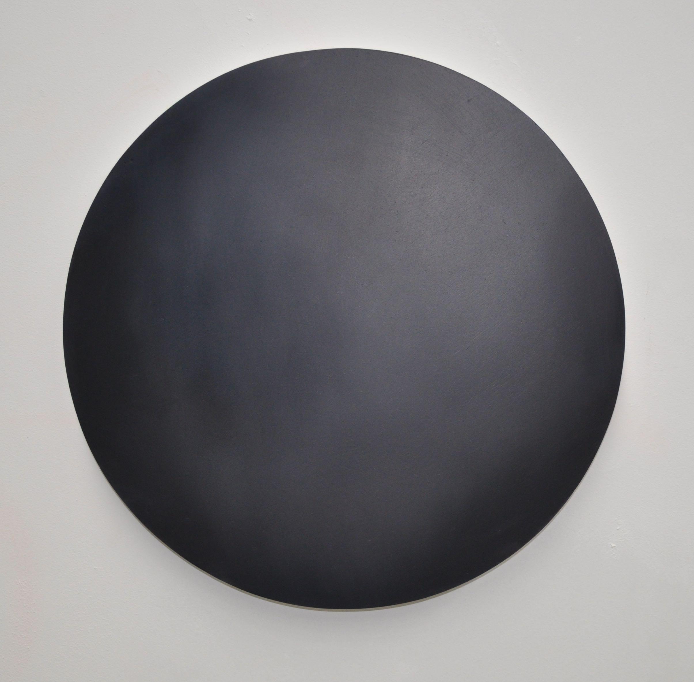 Large Dot 02 Reverie 40cm diameter Oil on Board 2015