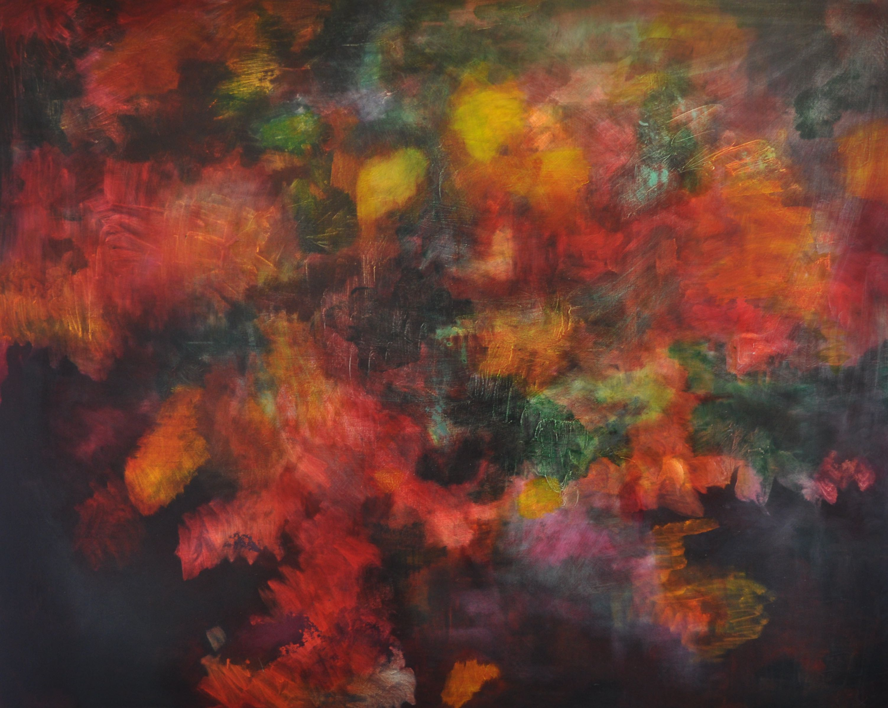 Nothing Like the Sun 03 120x150cm Oil on Canvas 2010