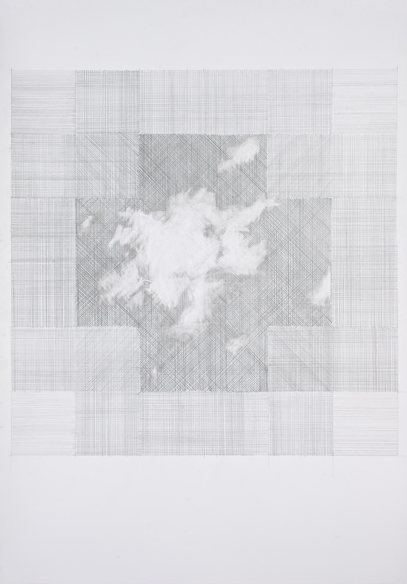 Cross 100x70 unframed Graphite on Paper 2008