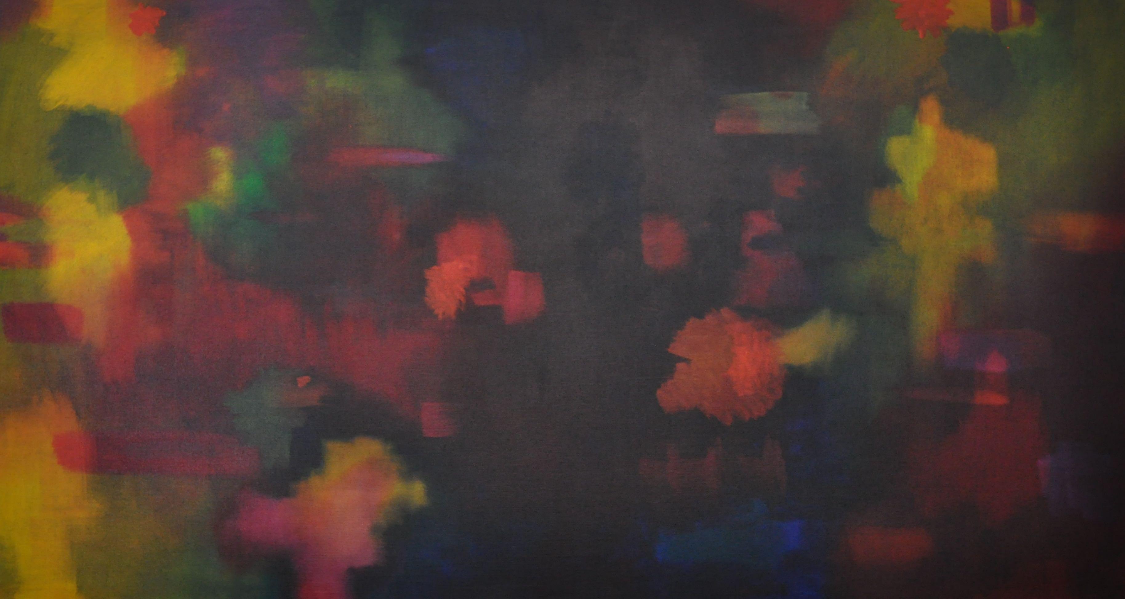 Nothing Like the Sun 07 107x198cm Oil on Linen 2010