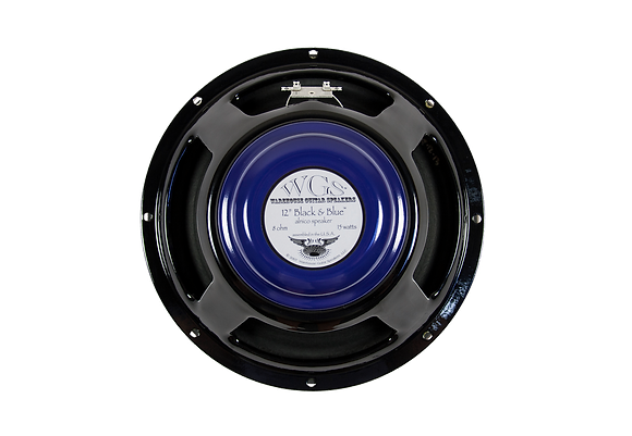 "12"" Black & Blue Alnico - 15W"