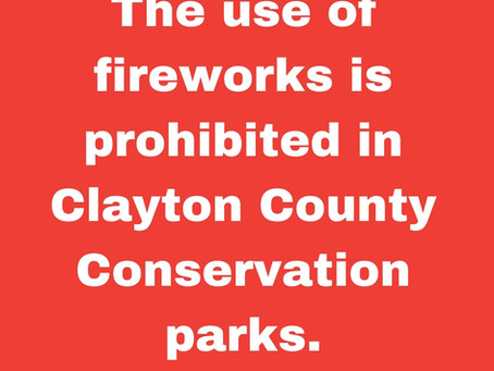 No Fireworks Allowed