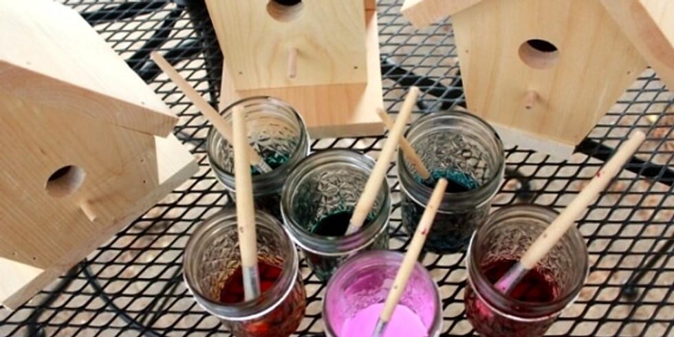Nature All Around Us - Decorative Painted Birdhouses