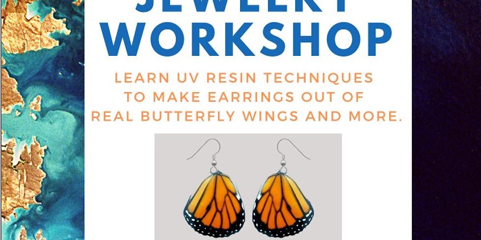 "Nature All Around Us Art Series - ""Resin Jewelry Workshop"""