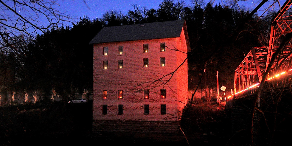 Motor Mill Bridge Lighting Event