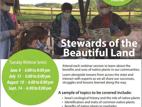 join Stewards of the Beautiful Land-a webinar series
