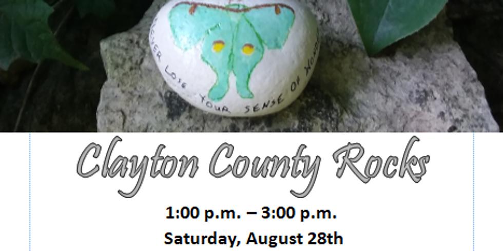 "Nature All Around Us Art Series ""Clayton County Rocks"""
