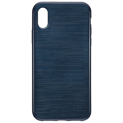 Blu Element Brushed Gel Skin Fitted Soft Shell Case for iPhone X