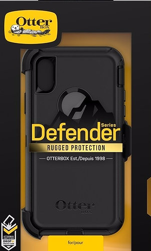 Apple Iphone X Defender Series Otter Box Black