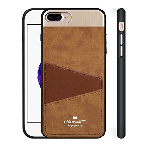 Apple iPhone 7 Plus Isecret Case Premium Leather Case