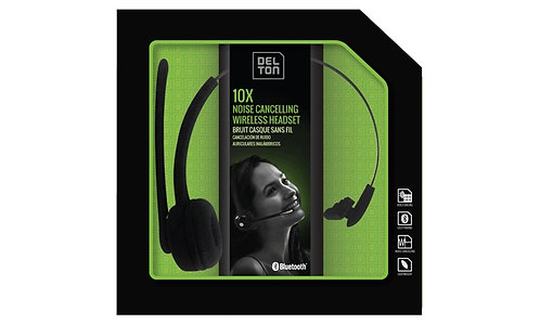 Delton 10X Noise Cancelling Bluetooth Wireless