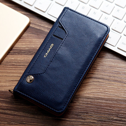 CMAR Wallet Case for Apple iPhone X