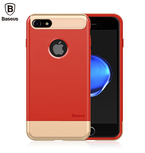 Baseus Brand PC + TPU 2 in 1 Shockproof Design Phone Case For iPhone 7 / 8