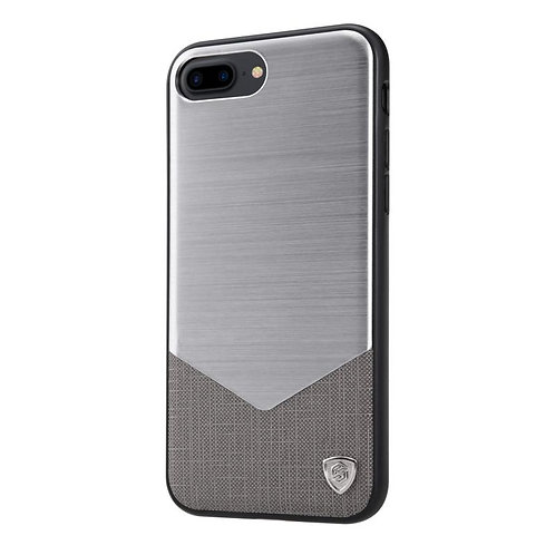 Apple iPhone 7 Plus Nillkin Lensen series cover case grey