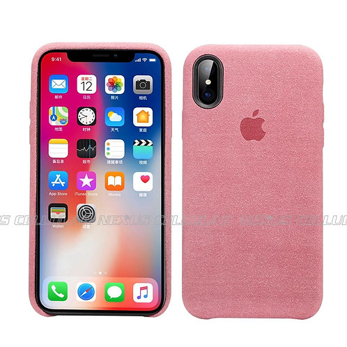 Alcantra Suede Case for iPhone X