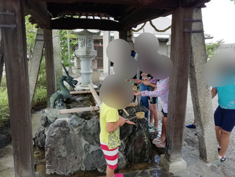 国民休暇村で水遊び😊