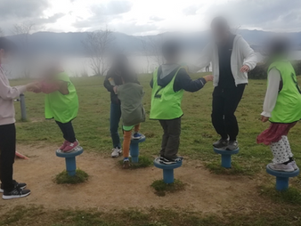 中村児童公園に行きました。