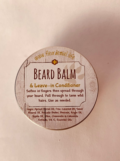 Beard Balm & Leave-in Conditioner