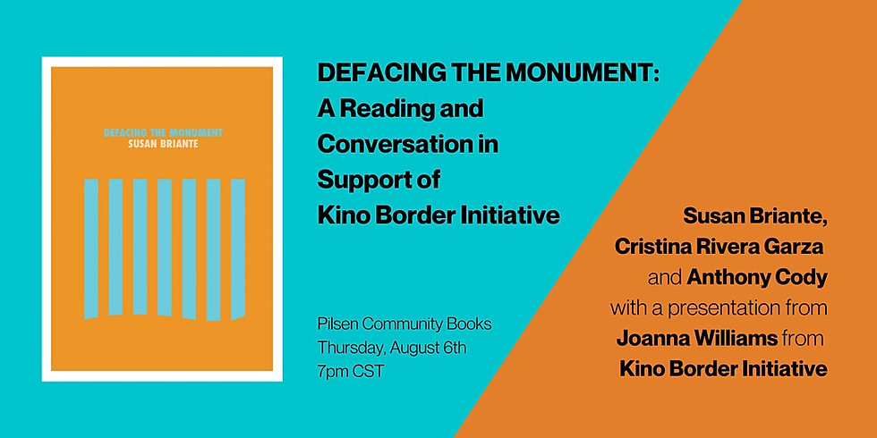 Book Launch: Defacing the Monument