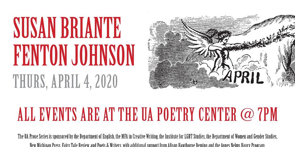 UA Prose Series (with Fenton Johnson)