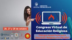 Congreso Virtual de Educación Religiosa Escolar