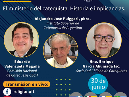Webinario: El Ministerio del catequista, historia e implicancias