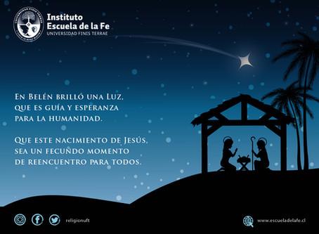 Un esperanzador saludo de Navidad