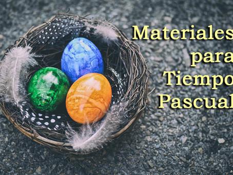 Materiales Tiempo Pascual
