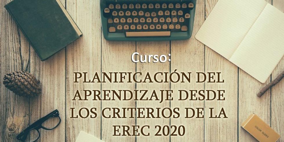 Nuevo Curso:  Planificación del Aprendizaje desde los criterios de la Erec 2020
