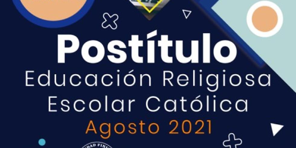 Postítulo en Educ. Religiosa Escolar - agosto 2021
