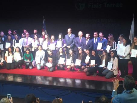 Ceremonias de Excelencia Académica y Premiación, primer semestre.