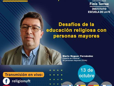 Desafíos de la educación religiosa con personas mayores.