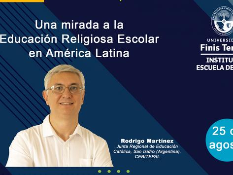 Nuevo webinario sobre la Clase de Religión en América Latina.