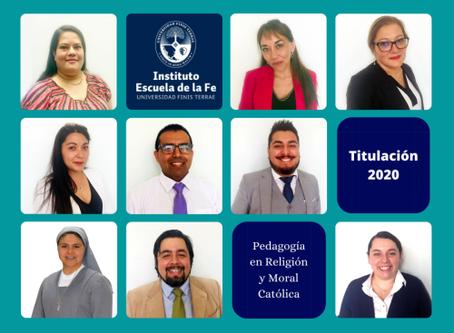 Titulados Nuevos Profesores de Religión