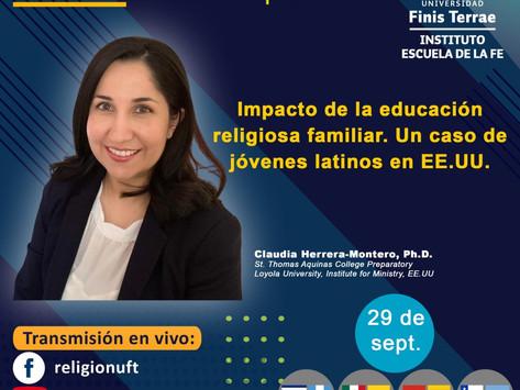Impacto de la educación religiosa familiar. Un caso de jóvenes latinos en EE.UU.