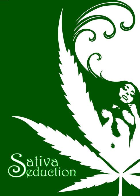 Sativa Seducation Poster
