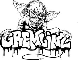 Gremlinz Tahoe Snowboard Crew Logo