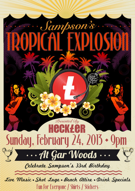 Sampson's Tropical Explosion Poster