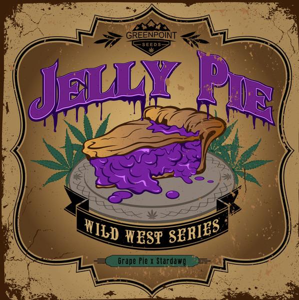 Jelly Pie Strain Logo