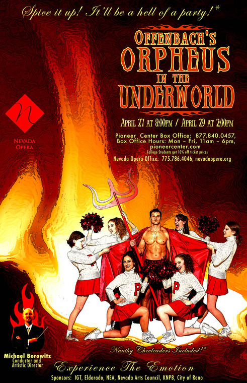 Nevada Opera Poster