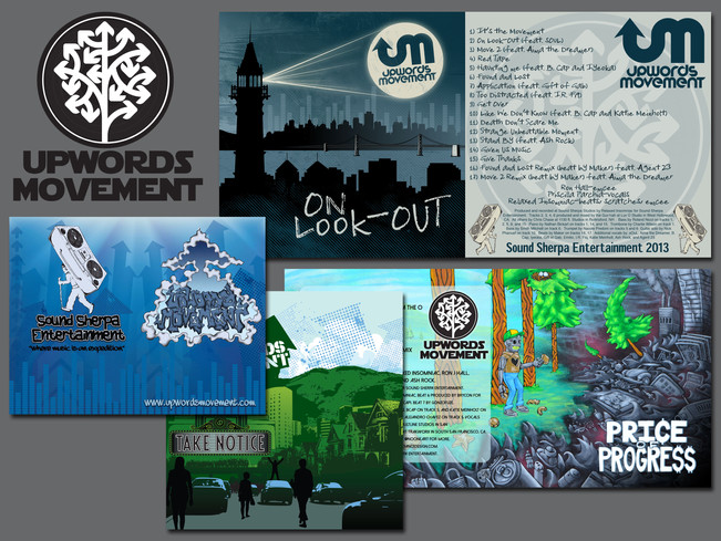 Upwords Movement Logo / Promotional Material / CD Jackets