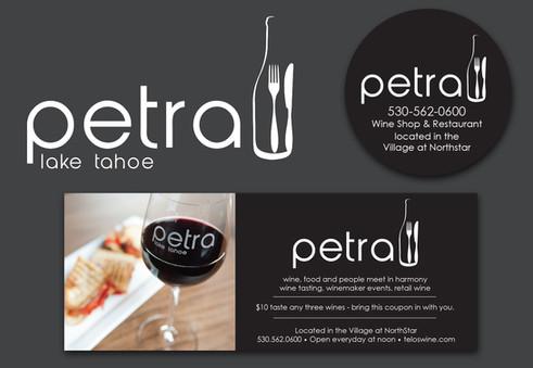 Petra Logo & Marketing