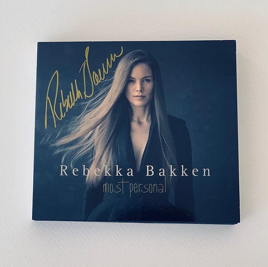 Signed CD - Most Personal (2016)