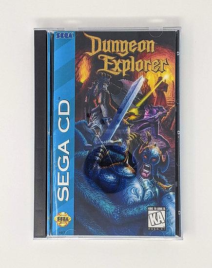 Dungeon Explorer Game, Manual, Back Art, Case, Case Protector & Sponge