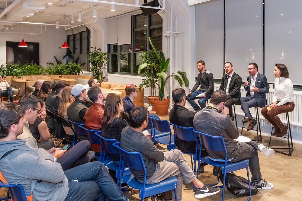 Startup Founder WeWork event