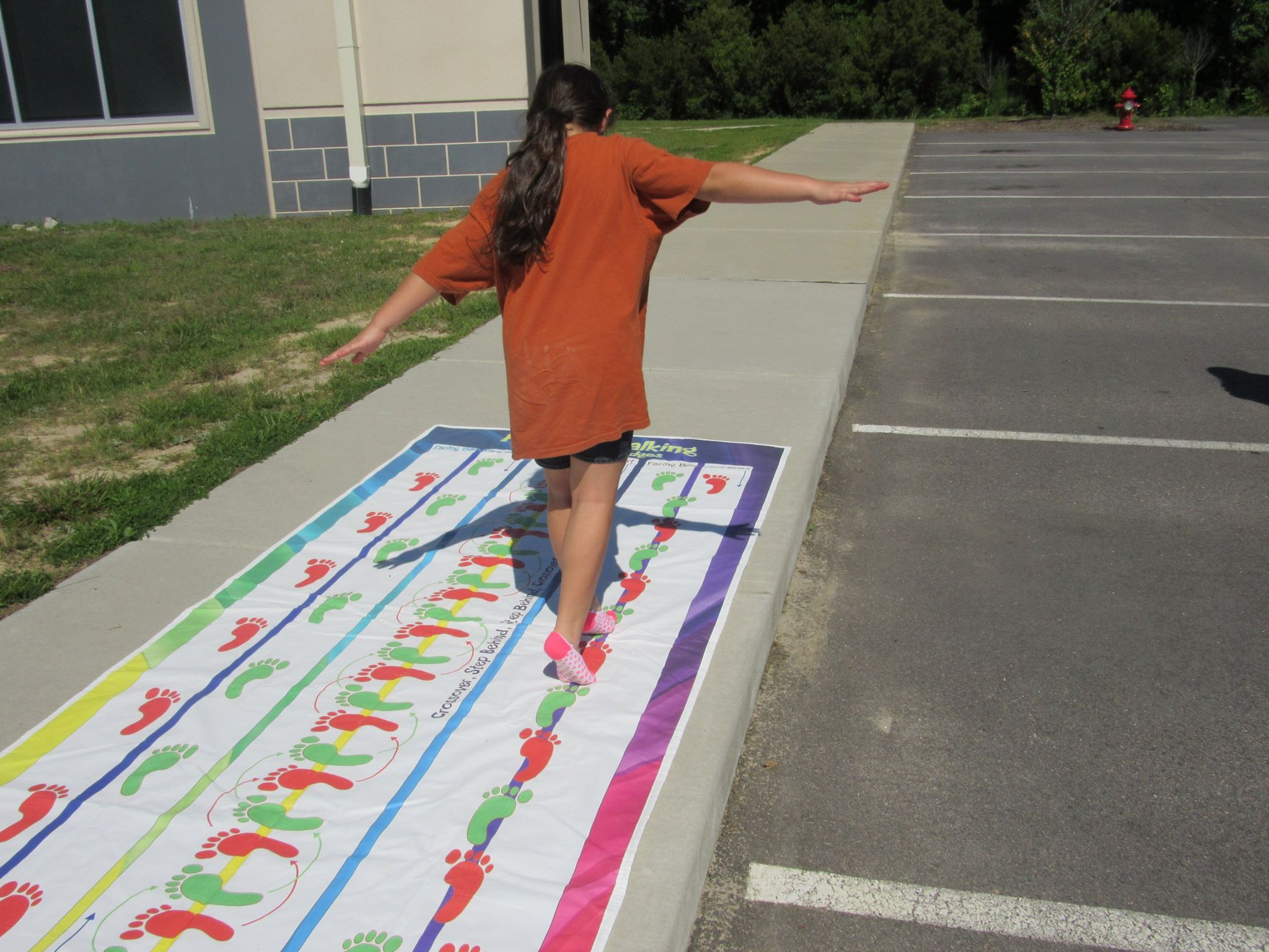 summercamp pattern walkingmat