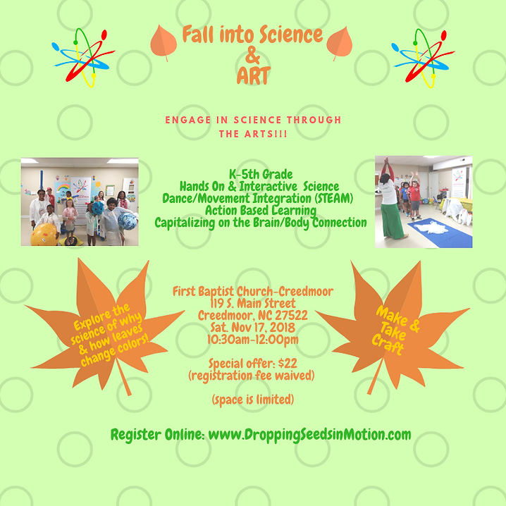 Fall into Science and Art Nov Socisl med