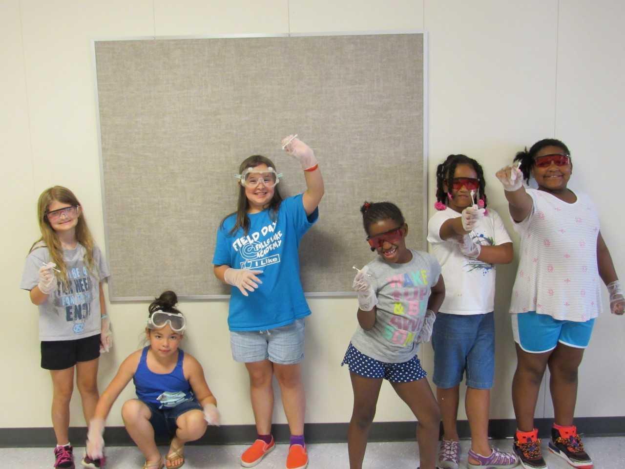 summer camp FLA swab