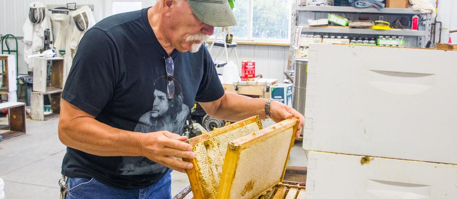 Meet Your Farmers   Dumfries Wildflower Honey